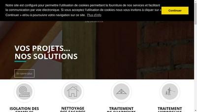 Site internet de Techni Controle Habitat