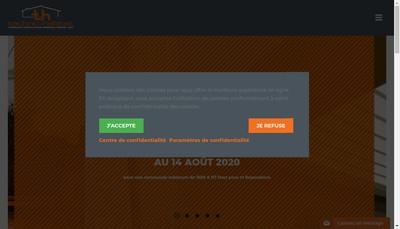 Site internet de Technic Habitat