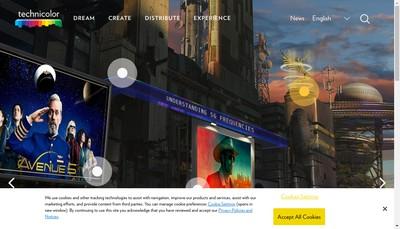 Site internet de Technicolor