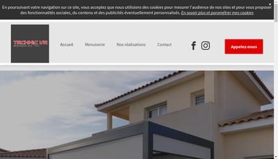 Site internet de Technic Vr