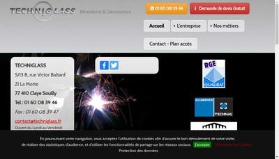 Site internet de Sinetec +