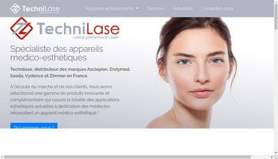 Site internet de Technilase