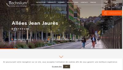 Site internet de Technilum Group
