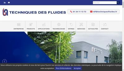 Site internet de Tdf