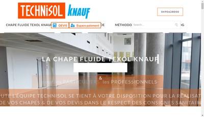 Site internet de Technisol