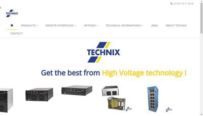 Site internet de Technix