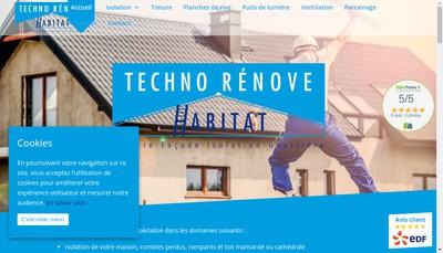 Site internet de Techno Rénove Habitat