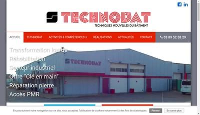 Site internet de Technobat