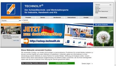 Site internet de Technolit