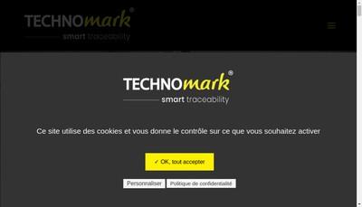Site internet de Technomark