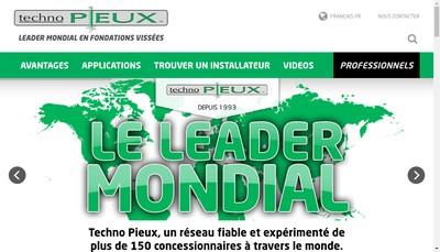 Site internet de Techno Pieux