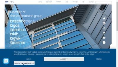 Site internet de Technotrans France SARL