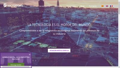 Site internet de Tecnatom France