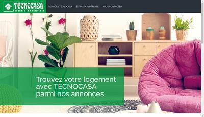 Site internet de Franchising Tecnocasa France