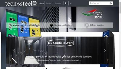 Site internet de Tecnosteel France