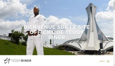 Site internet de Riner Judo Connection