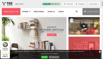 Site internet de TEEbooks