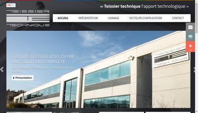 Site internet de Teissier Technique