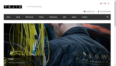 Site internet de Tejix