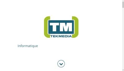 Site internet de Tekmedia