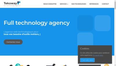 Site internet de Tekoway