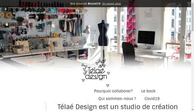 Site internet de Telae Design