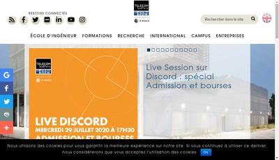Site internet de Sud