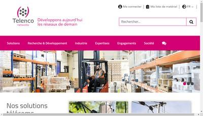 Site internet de Telenco Networks