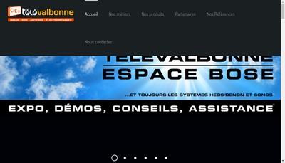 Site internet de Tele Valbonne