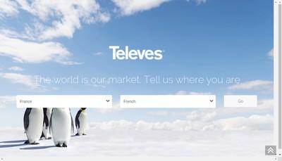 Site internet de Televes France