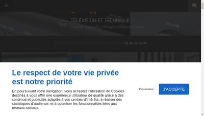 Site internet de Television et Technique