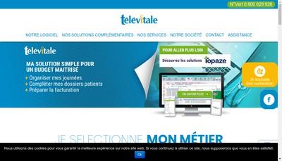 Site internet de Televitale Kcm