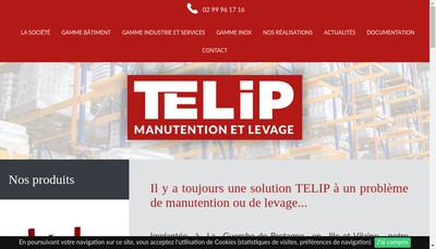 Site internet de Telip