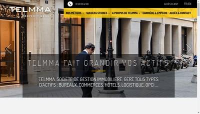 Site internet de Telmma