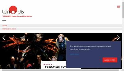 Site internet de Departement Telmondis