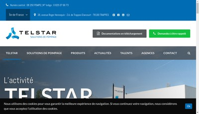 Site internet de Telstar