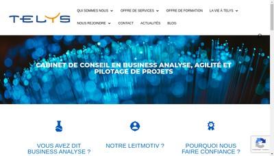 Site internet de Telys