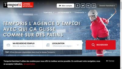 Site internet de Temporis