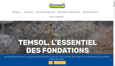 Site internet de Temsol