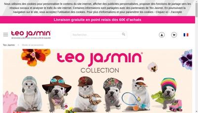 Site internet de Teo Jasmin