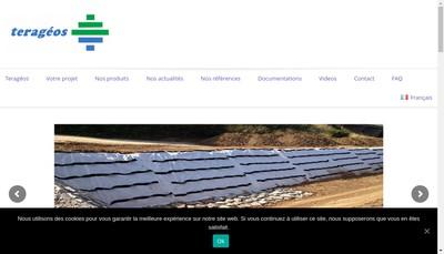 Site internet de Terageos