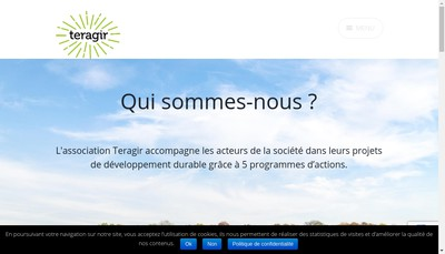 Site internet de Teragir