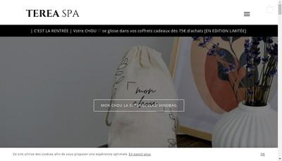 Site internet de Terea Spa
