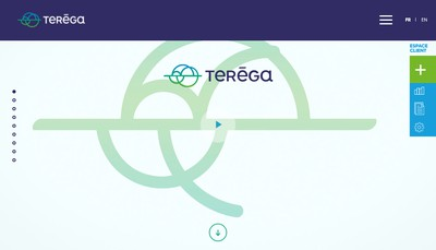 Site internet de Terega