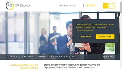 Site internet de Ter France
