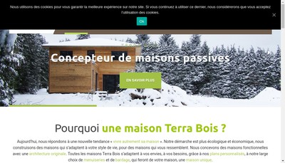 Site internet de Eco Dom-Bio D-Sola D-Terra D-Ronds Bois