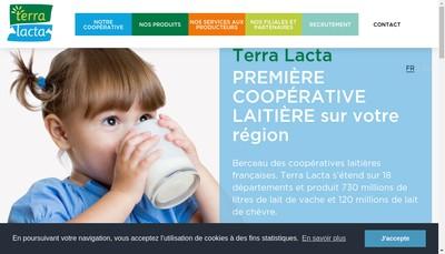 Site internet de Terra Lacta