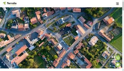 Site internet de Terralia Immobilier