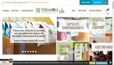 Site internet de Terramoka