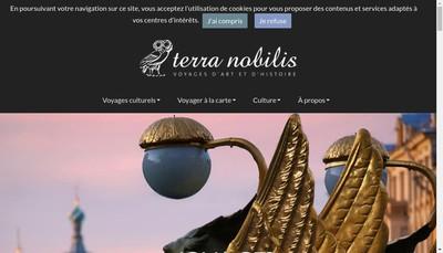 Site internet de Terra Nobilis